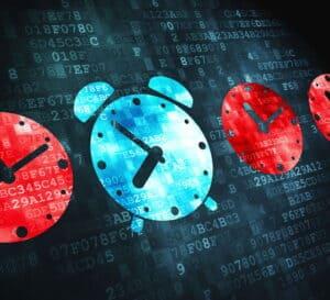 Clocks Represent Future Times